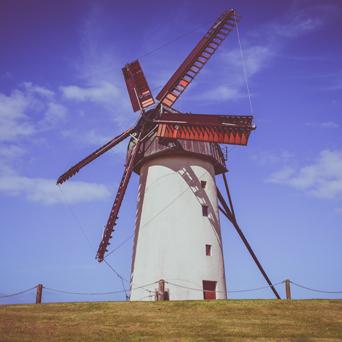 5 sail windmill